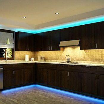 Premium 16ft Color Changing 300 Leds Light Strip Set Kitchen Led Lighting Strip Lighting Led Strip Lighting