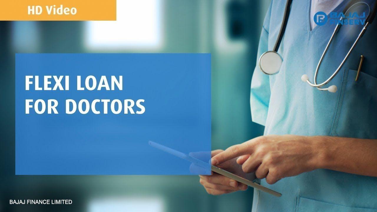 Bajaj Finserv Flexi Loan For Doctors Pay Up To 45 Lower Emis Loan Flexi Doctor