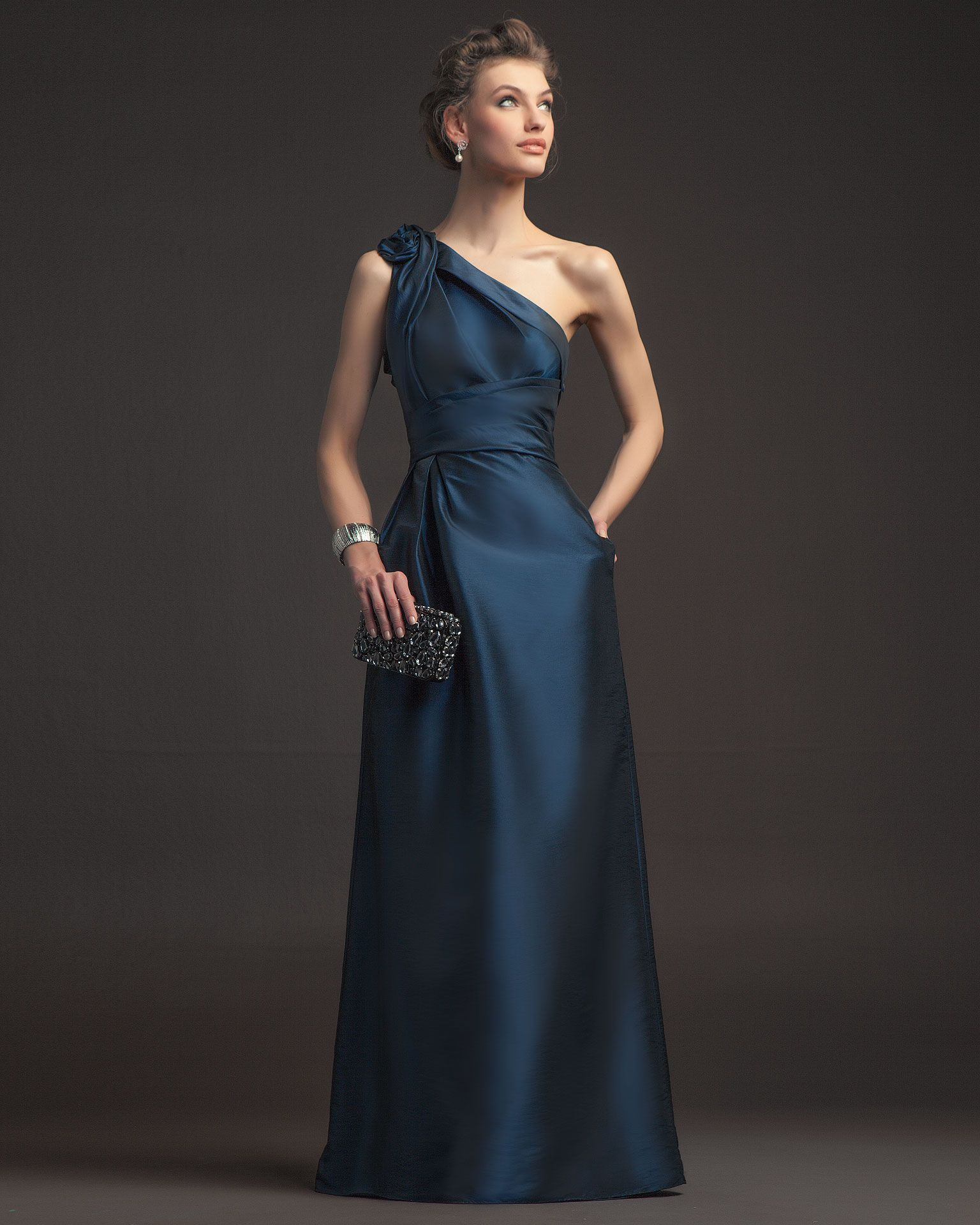 Evening dress by aire barcelona more photos at efr