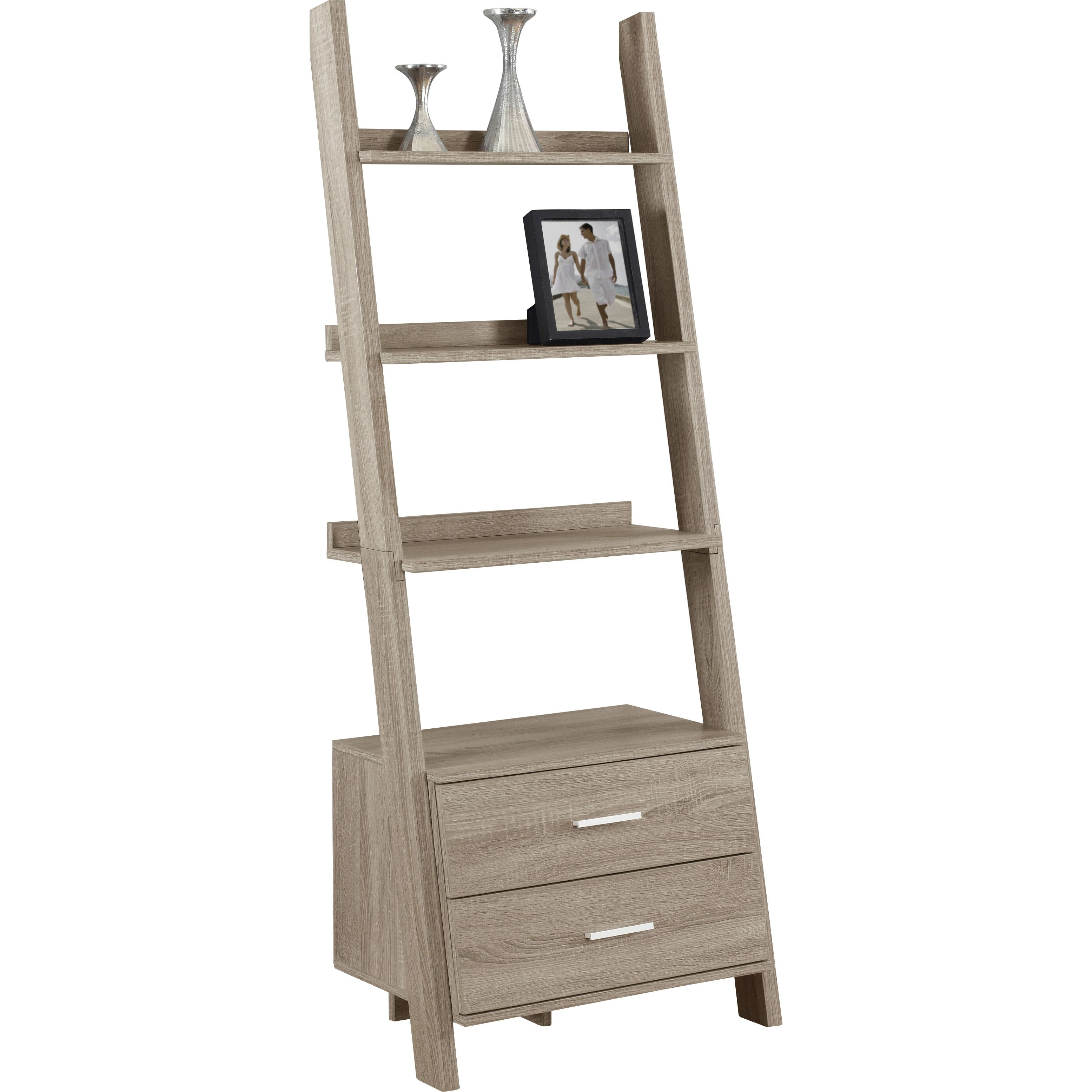 bookshelf monarch modern contemporary bookcase style wooden specialties quinn corner l bookcases from ladder solid