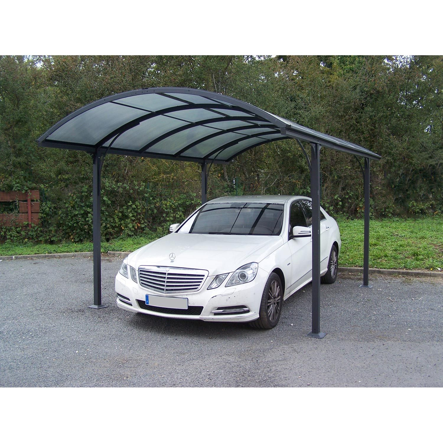 Carport Alu HABRITA Car 3048 alrp 14.62 m² Long.485 x