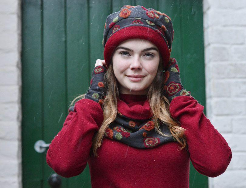Grooten Thal Modedesign Mode Modestil Trachtenhut
