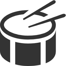20+ Bass drum clipart black and white info
