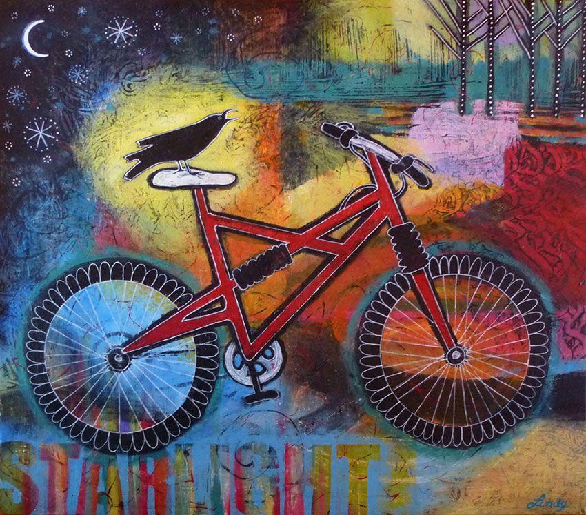 BLOG   Bike artwork, Whimsical paintings, Bicycle painting