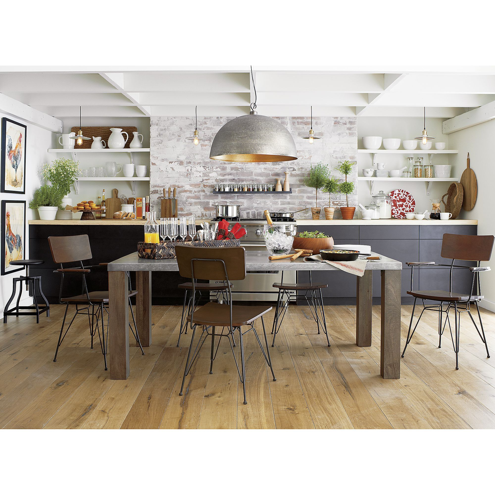 Crate and barrel dining room table - Rodan Pendant Light Crate And Barrel