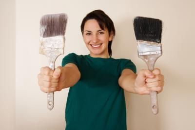 How To Clean Polyurethane Paint From Brushes Ehow Cleaning Paint Brushes Cleaning Wood Staining Wood