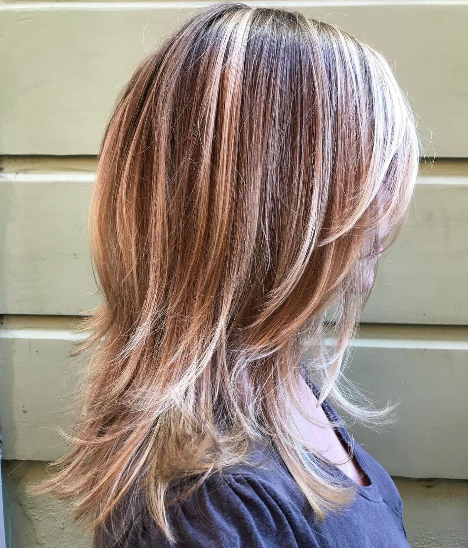 Sleek Mid-Length Haircut With Shaggy Ends