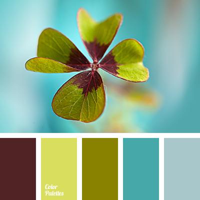 Color Palette 2273 All Green Colour
