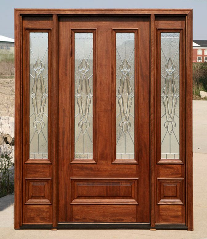 Exterior Doors With Sidelights Solid Mahogany Entry Doors Ranas