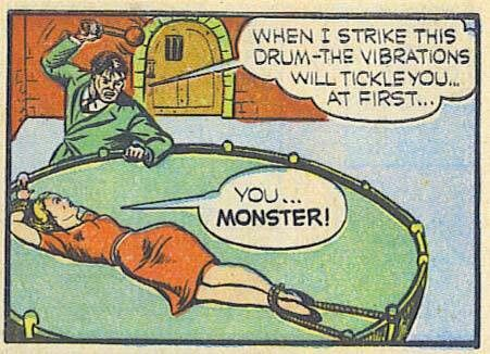Tickle torture comic strips