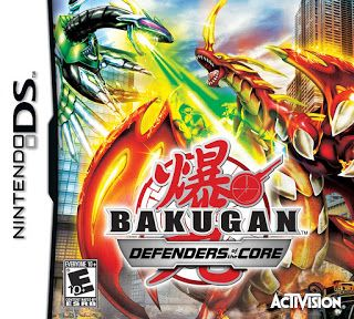 Bakugan Battle Brawlers Defenders of the Core PPSSPP ISO