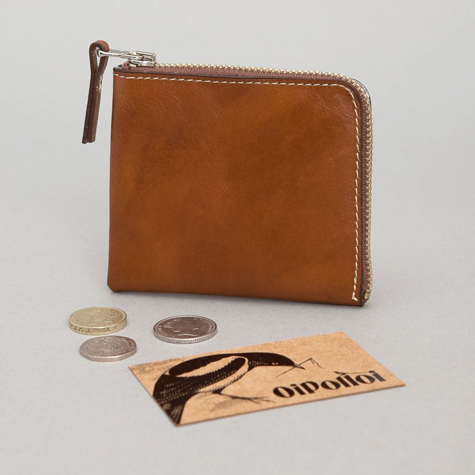 Calabrese Nerano Wallet in Tan Leather