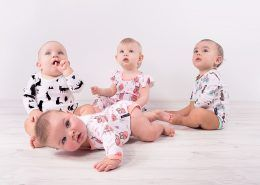 Aster Oak Woodland Animals Collection Organic Baby Clothing Brand