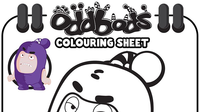 Printables Welcome To Oddbods Spider Coloring Page Printables Coloring Pages