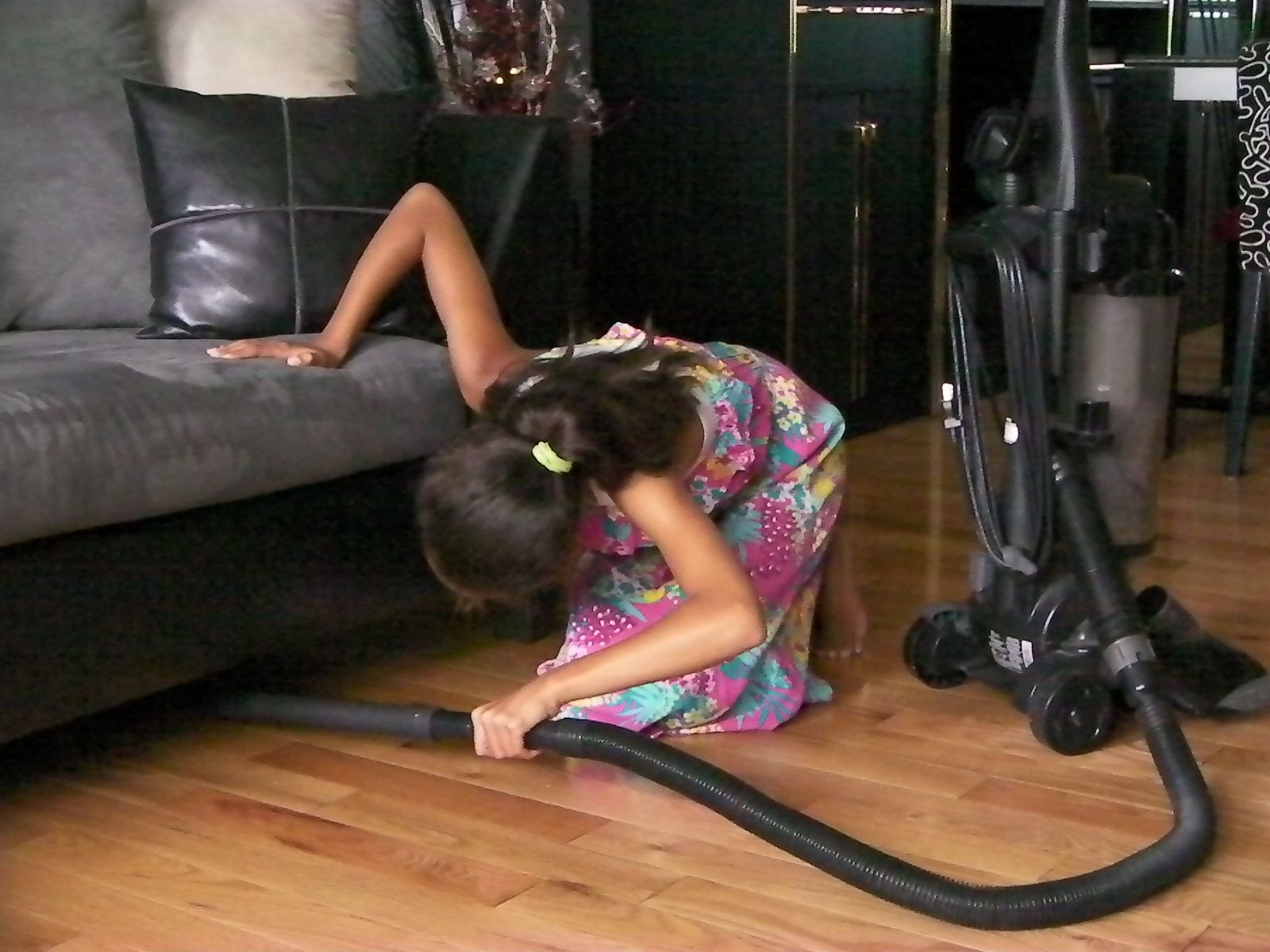 with little or no light under furniture its hard for even for the best vacuum cleaners