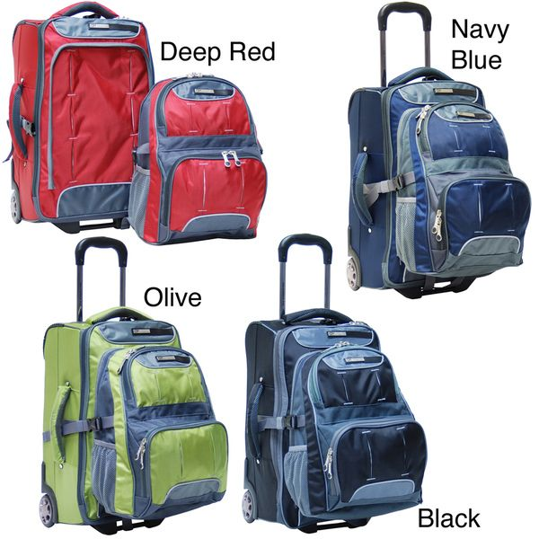 LeSportsac Luggage Rolling Backpack | Europe traveling | Pinterest ...