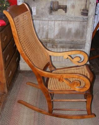 Antique Rocking Chair From Grand Coteau La Redo Furniture Household