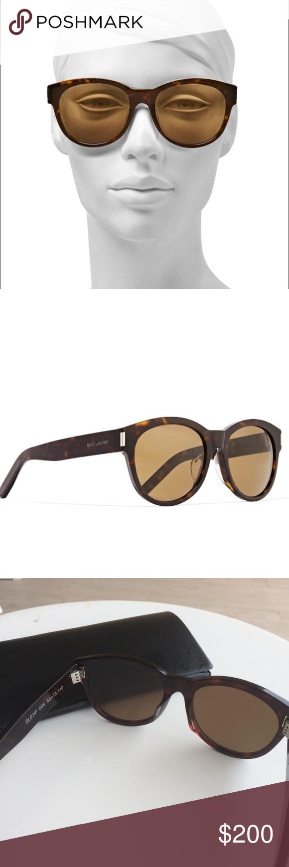 75465696e Saint Laurent Avana SL 67 sunglasses Tortoise shell pattern, excellent  condition. No scratches. Not polarized. Yves Saint Laurent Accessories  Sunglasses