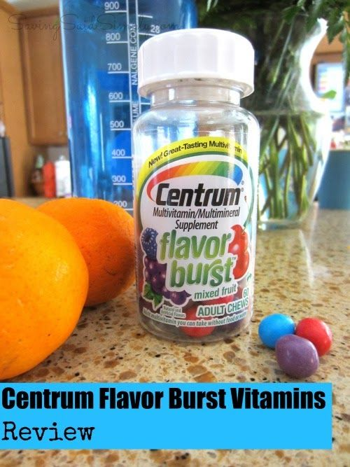 #CentrumFlavorBurst helped Christie from Savings Said Simply make taking her vitamins fun again!
