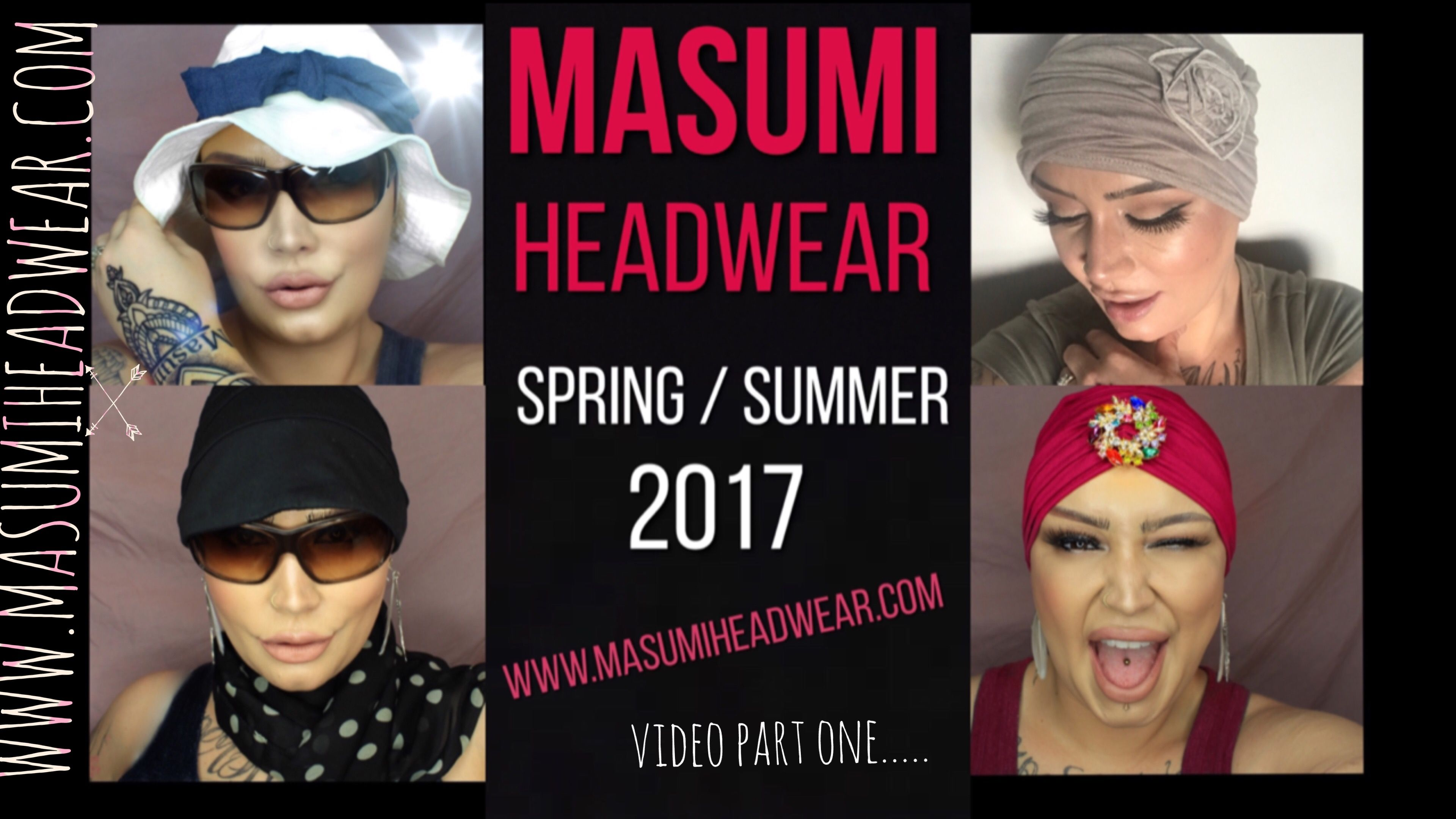 www.MASUMIHEADWEAR.com