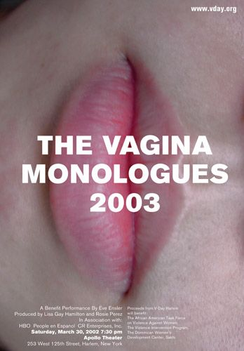 The Vagina Monologues. Design by Chermayeff & Geismar