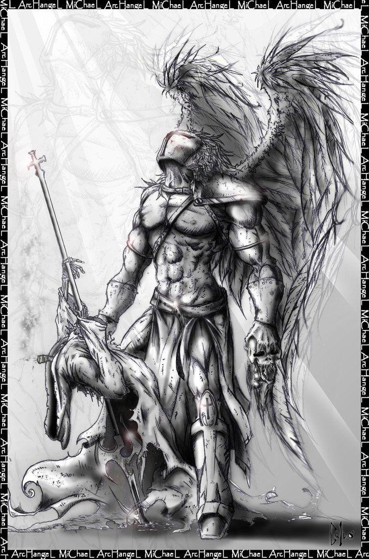 5eccf1add Archangel michael-Nevermore by DraftmanArt.deviantart.com on @DeviantArt