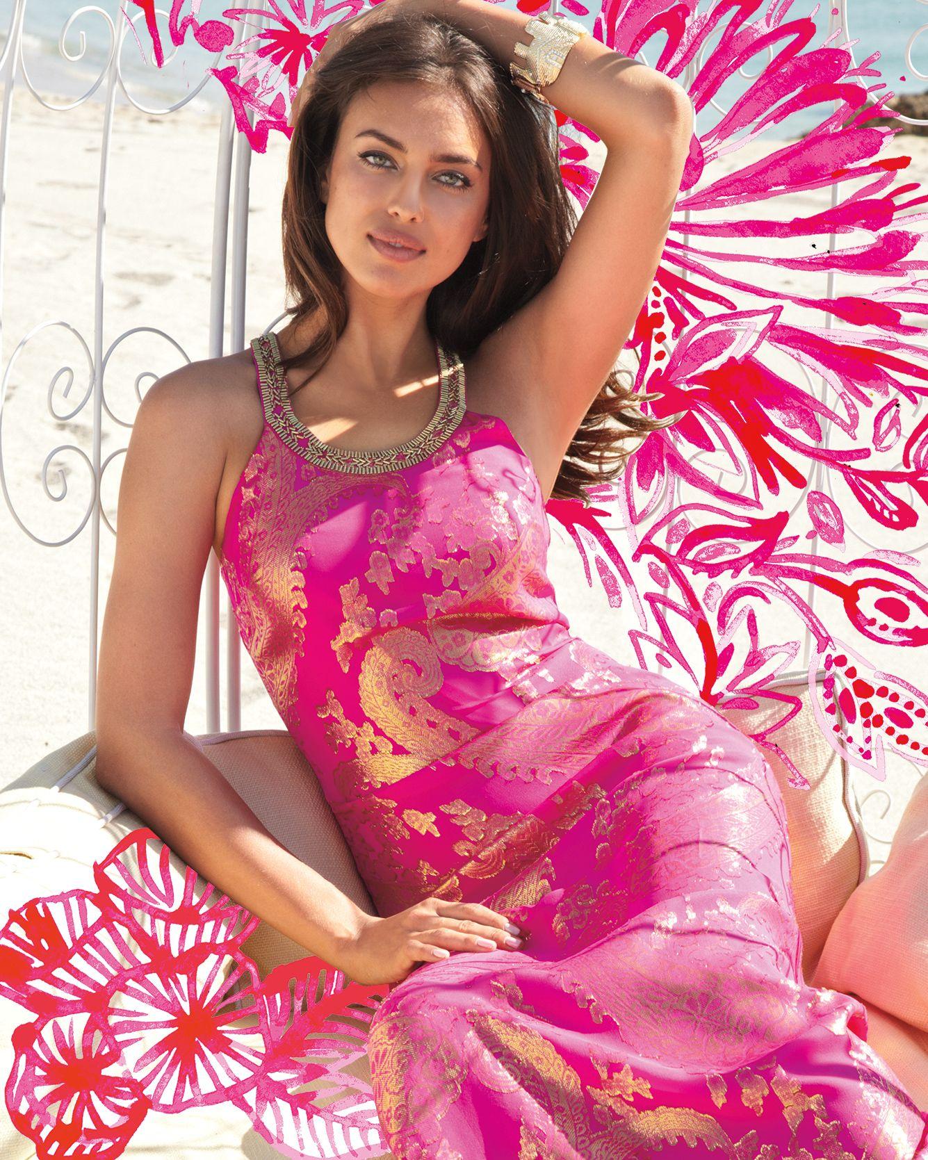 Lilly Pulitzer Franconia Circle Neck Maxi Dress | Style | Pinterest