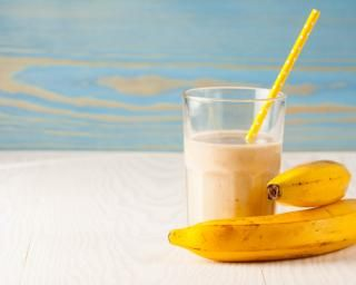 Milkshake à la banane tout simple