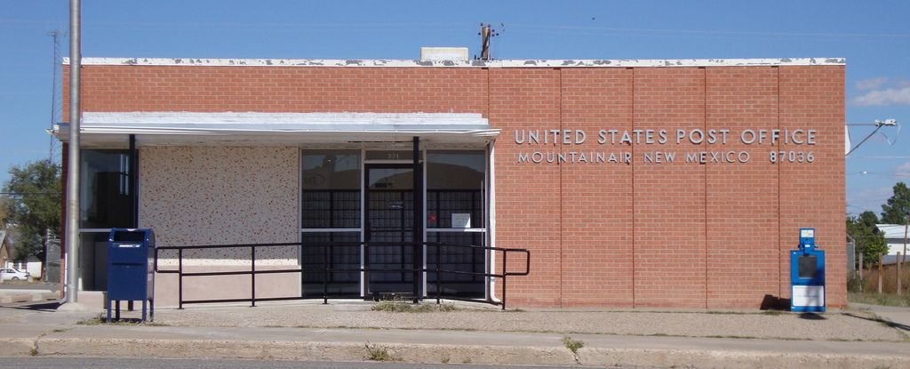 Post Office 87036 Mountainair New Mexico New Mexico Mexico Post Office