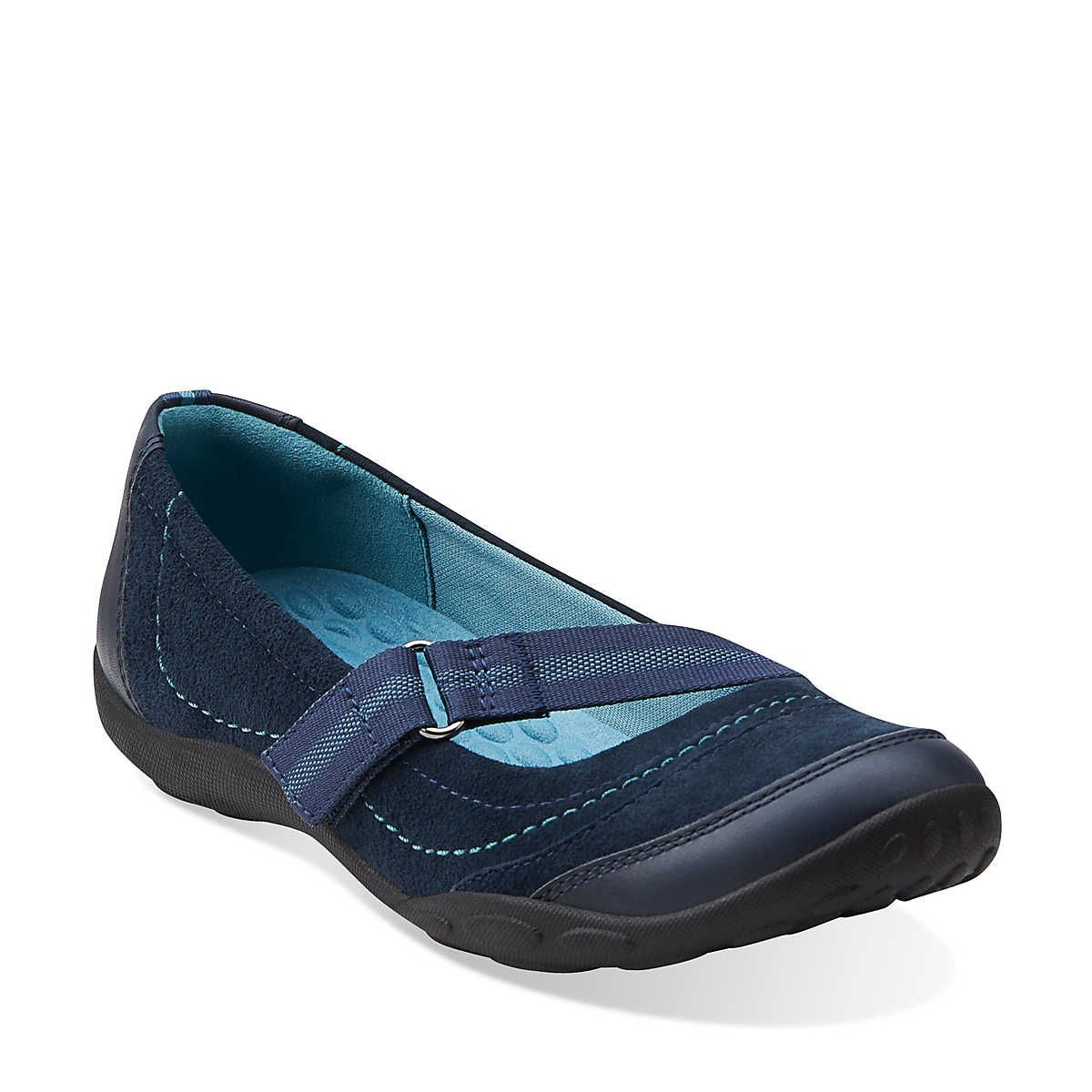Haley Braeburn in Navy - Womens Shoes from Clarks