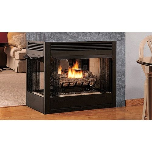 Superior 36 Peninsula Vent Free Gas Fireplace Vct43pf Vent Free Gas Fireplace Gas Fireplace Gas Fireplace Insert
