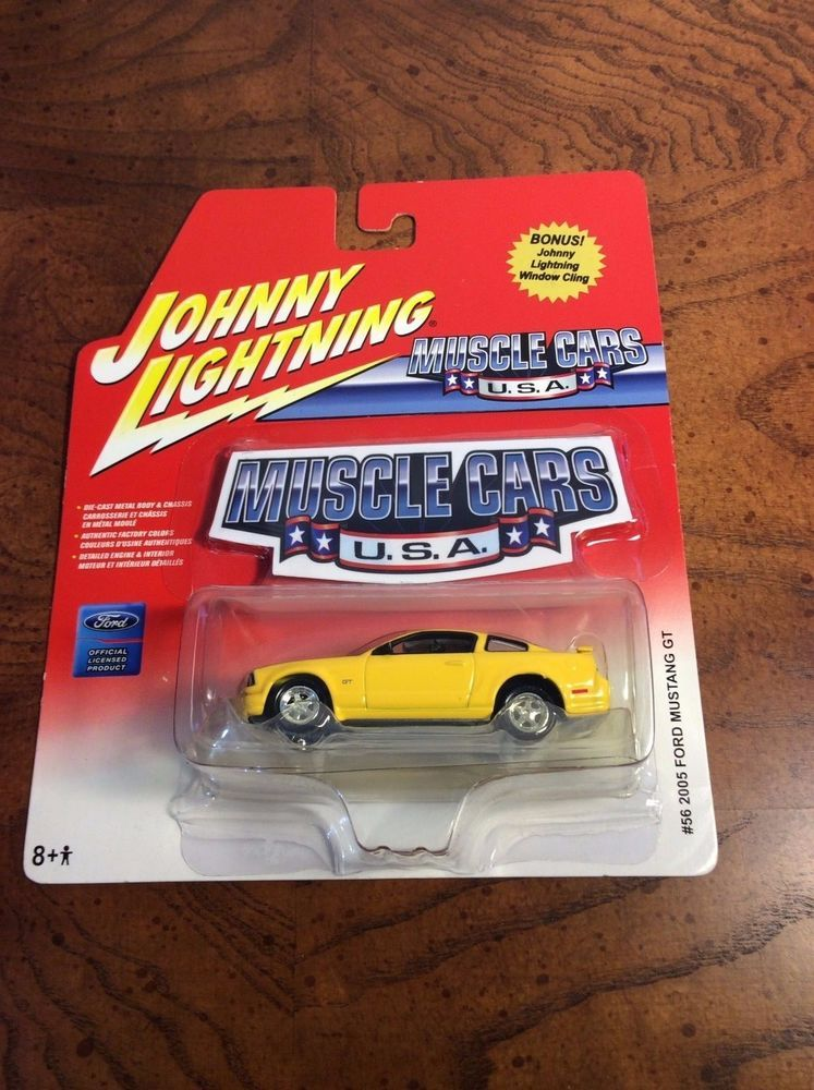 Johnny Lightning Muscle Cars U S A 2005 Ford Mustang Gt Diecast Car Scale 1 64 Johnnylightning Ford Ford Mustang Ford Mustang Gt Mustang Gt