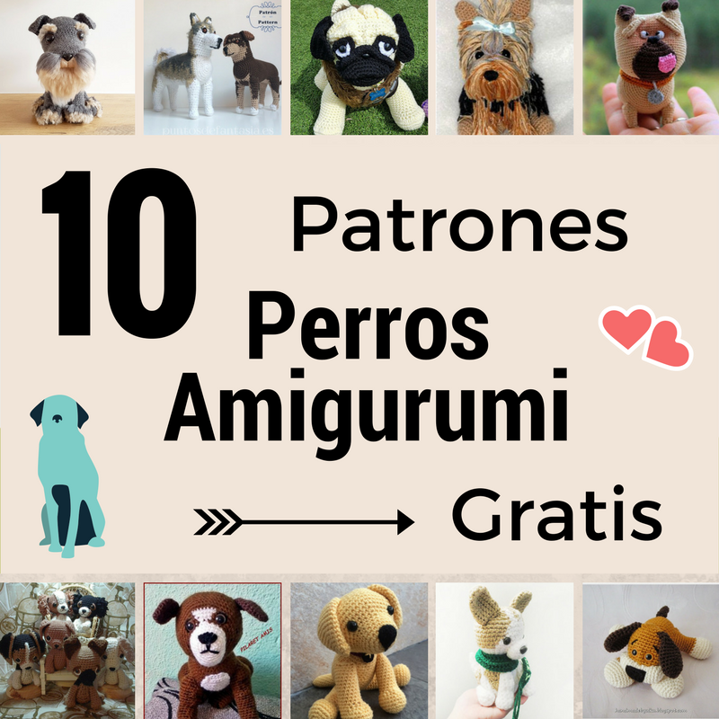 perro amigurumi patron gratis | con patrones | Pinterest | Amigurumi ...
