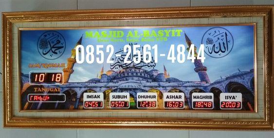 Jam Digital Masjid Melayani Pembuatan Jam Digital Masjid Di