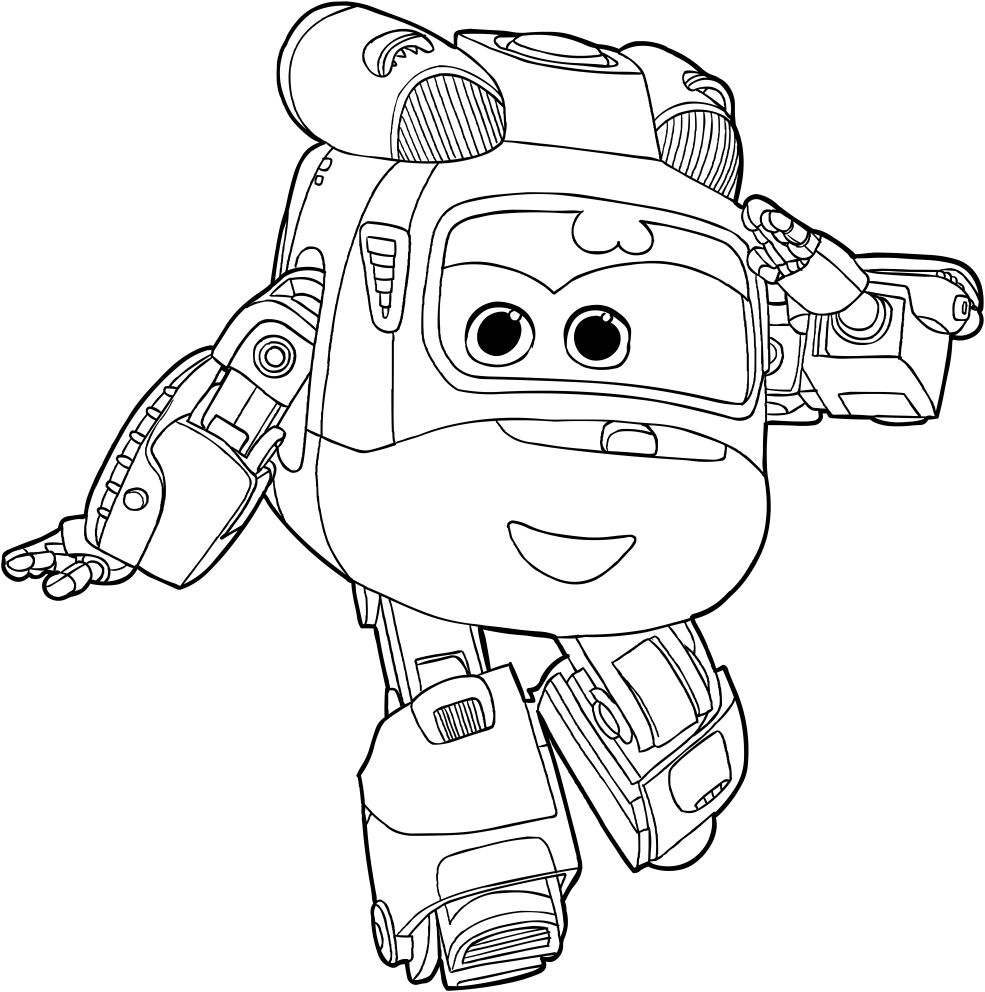 Top 15 Super Wings Printable Coloring Pages For Kids Coloring