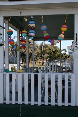 I Love These They Call Them Porch Buoys And I Always See