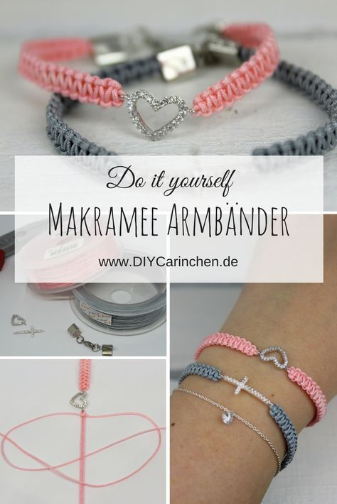 Photo of Simply make DIY macrame bracelets yourself + detailed instructions