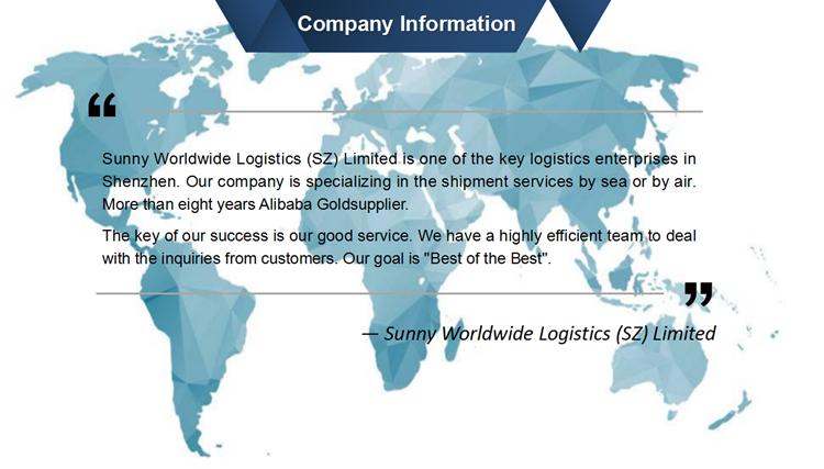 Shenzhen Freight Forwarder to USA DDU DDP Services