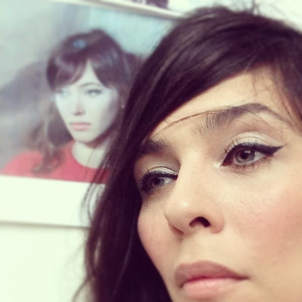 Stylist And Makeup Artist Stacey Nishimoto As Anna Karina Pretty