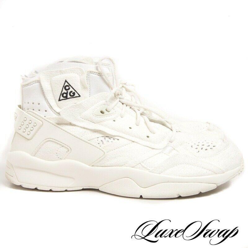 online retailer 3cc38 26ce6 LNWOB Comme des Garcons Homme Plus Nike Air Mowabb AV4438-100 CDG Sneakers  11