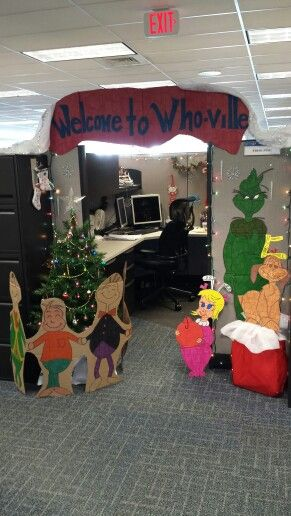 Cubicle Decorating Xmas C U B I C L E N A T I O N Pinterest