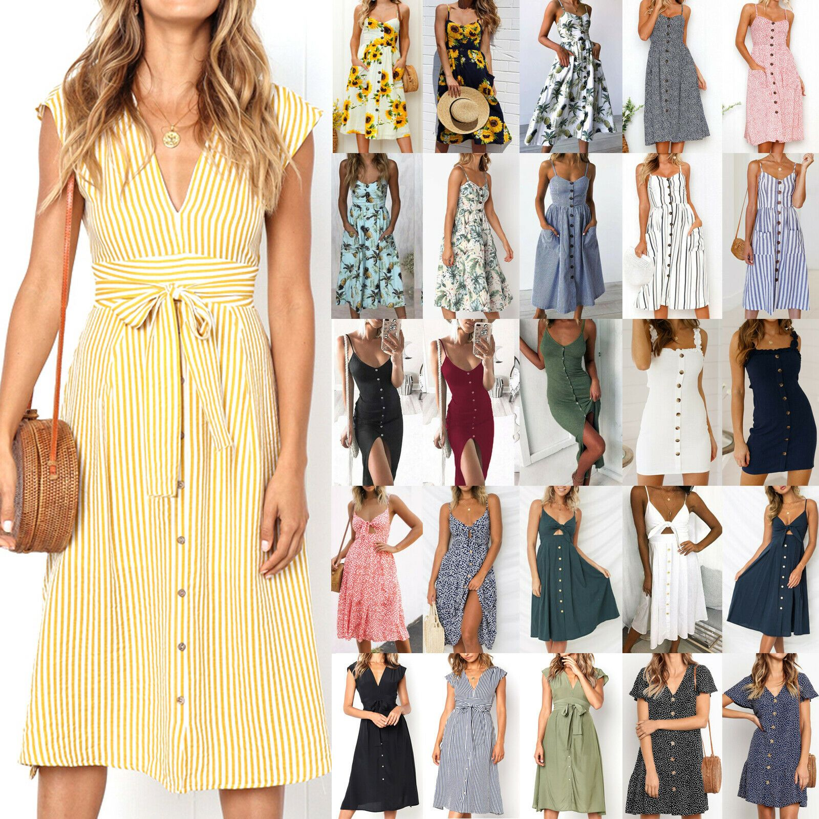 Summer Lounger Beach Patio Dress S 3xl Made In Usa Midi Dresses Shop For Midi Dresses For Sales Midi Summer Dresses Midi Dress Summer Pleated Party Dress [ 1600 x 1600 Pixel ]