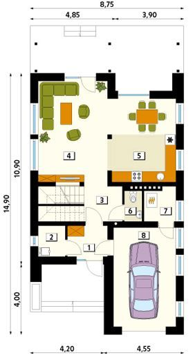 Modelos de casas de dos pisos sencillas casa pinterest - Modelos de casas de dos pisos ...