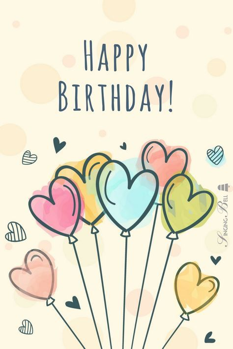 Happy Birthday To You Karaoke 7 Versions To Download And Sing At A Party Birthday Congratulations Happy Birthday Messages Happy Birthday Girls