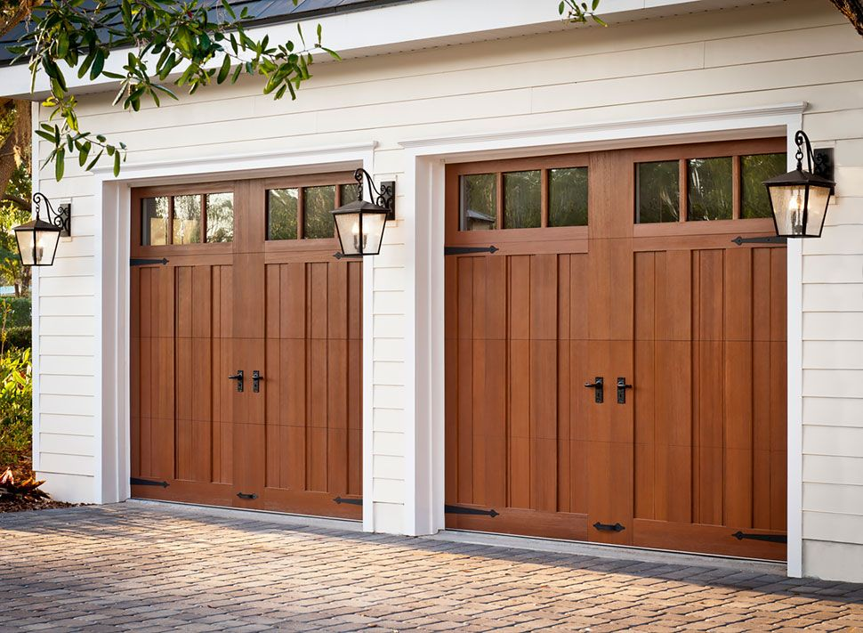 Fibreglass Garage Doors Garage Living For The Home Pinterest