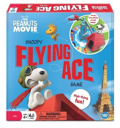 The world's most beloved beagle is back! A legend in his own mind. Snoopy takes off as the Flying Ace in constant pursuit of his nemesis; The Red Baron. It's high-flying fast-paced fun around the Eiffel Tower as Woodstock and his team of mechanics lend support from the ground. Pick up the most tiles to win!.