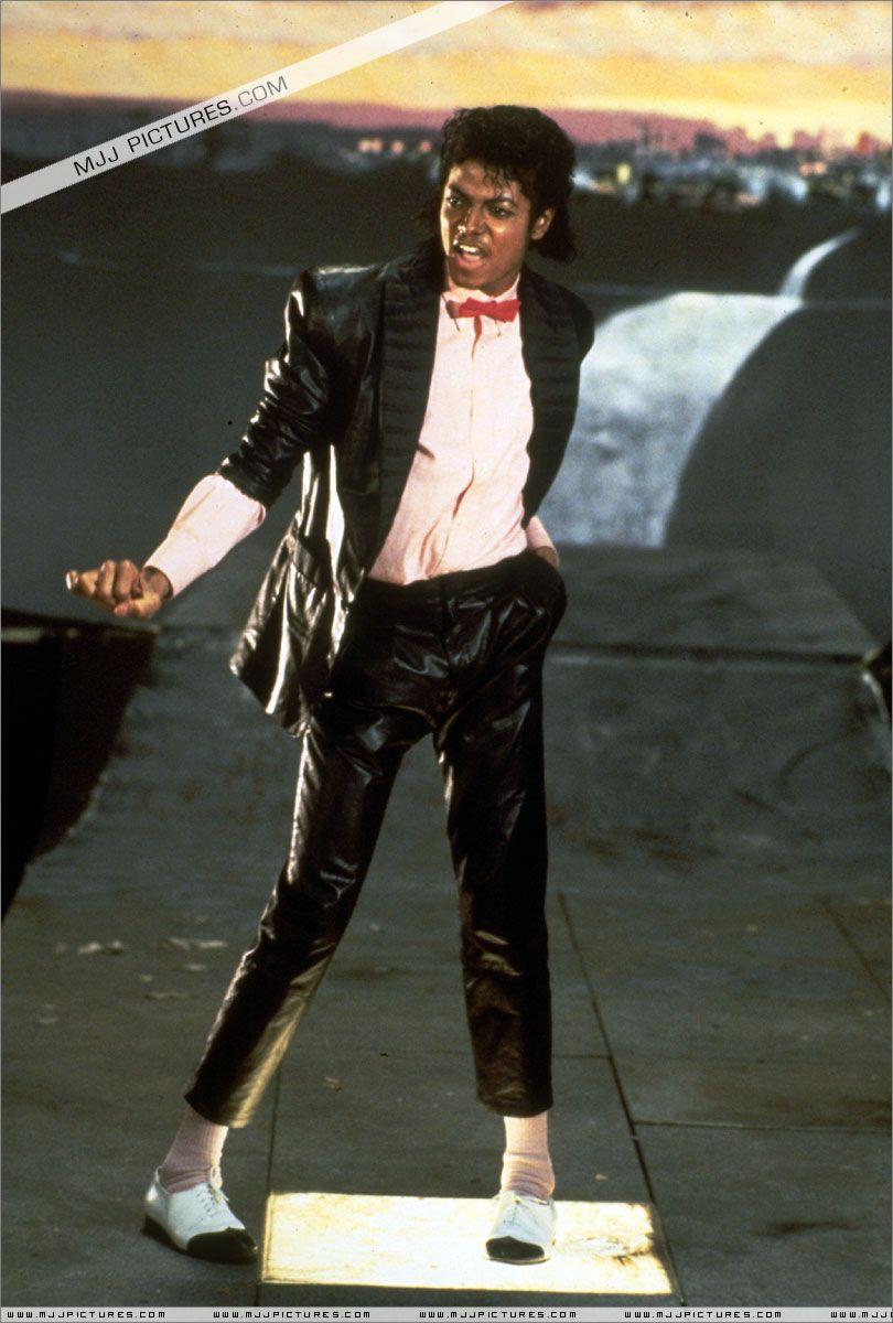 Michael Jackson In The Music Video For Billie Jean Billie