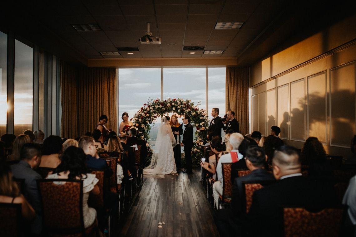 A dramatic Vietnamese American wedding overlooking Little