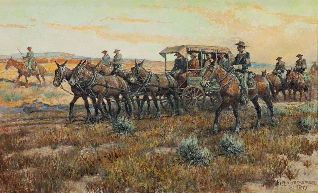 Original watercolor art for sale - Nick Eggenhofer Western Artist Original Watercolor Painting For Sale Grapevine Texas
