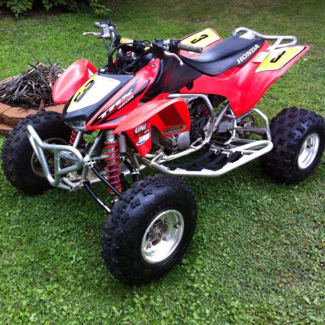 06 Honda Trx 450r 4 Wheelers For Sale Honda Dirt Bike Atv Quads